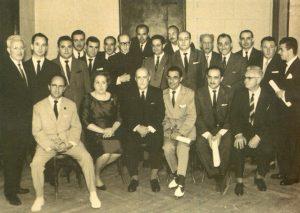 Foto de familia de los participantes en la I Asamblea Nacional Belenista