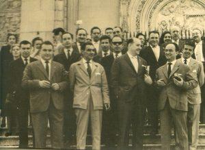 Misa en San Jerónimo el Real el 30 de junio de 1963
