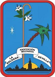 """Logo de la Asociación Belenista """"La Roldana"""" de Sevilla"""
