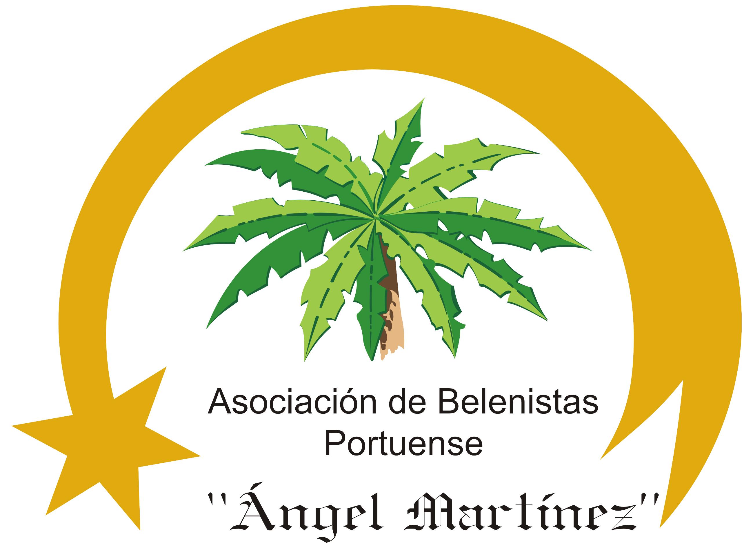"""Logo de la Asociación de Belenistas Portuense """"Ángel Martínez"""""""