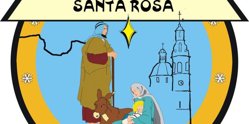 Logo de la Asociación Belenista Santa Rosa de Alcoy