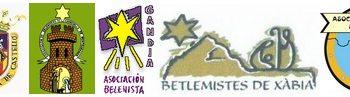 Entidades fundadoras de la Federación Valenciana de Belenistas