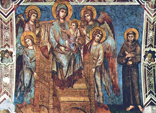 Cimabue_Virgen_en_majestad