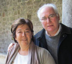 María Eulalia Nacimiento Menéndez y Aurelio Medio Fernández (Lali y Yeyo)