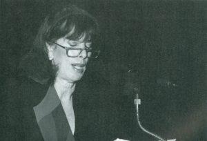 Pirula Arderius Casas, pregonera de la Navidad 1992 en Alicante (18/12/1992)