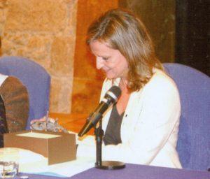 Isabel San Sebastián Cabasés, pregonera de la Navidad 2012 en Oviedo (15/12/2012)