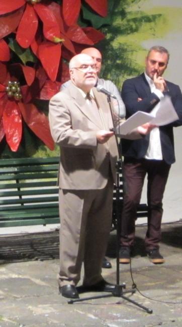 Salvador García Llanos, pregonero de la Navidad 2016 en Puerto de la Cruz (03/12/2016)