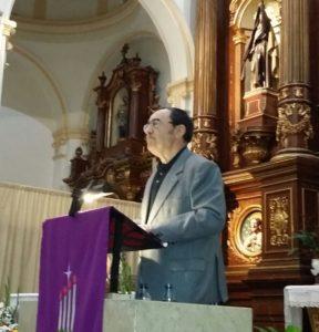 Jesús Prieto Mendaza, pregonero de la Navidad 2017 en Vitoria-Gasteiz (19/12/2017)