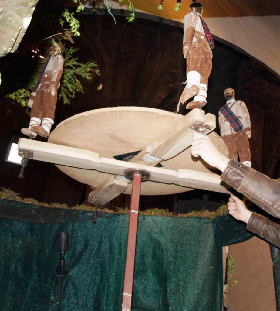 Rueda de los pastores danzantes (Belén de Santa María de Laguardia - Foto: Fco. Javier Gutiérrez)
