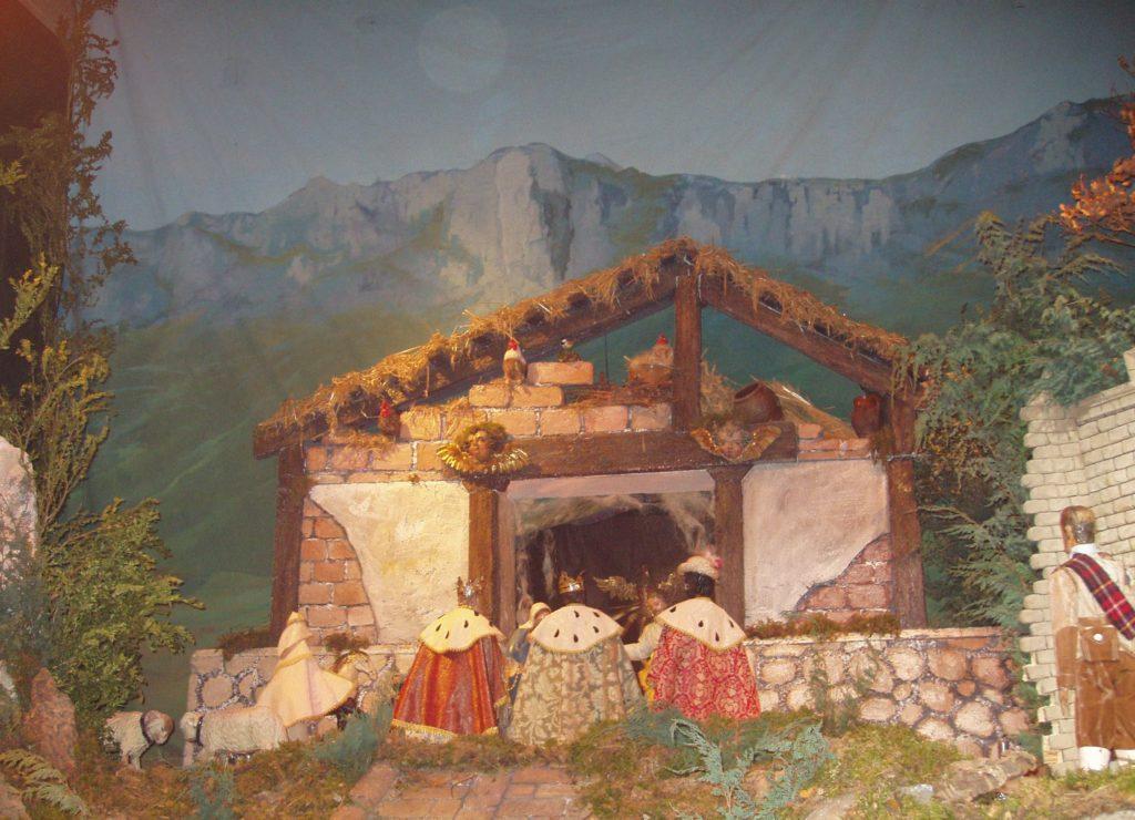 Adoración de los Reyes Magos (Belén de Santa María de Laguardia - Foto: Fco. Javier Gutiérrez)