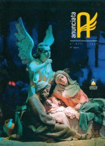 Portada de la revista Anunciata Nº 13 - 2007, de la Federación Española de Belenistas