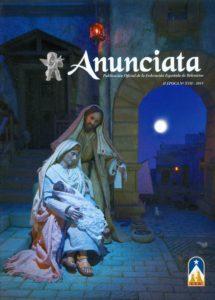 Portada de la revista Anunciata Nº 17 - 2011, de la Federación Española de Belenistas