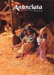 Portada de la revista Anunciata Nº 21 - 2015, de la Federación Española de Belenistas