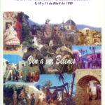 Cartel XXXVII Congreso Nacional Belenista - Alicante, La Marina y Callosa de Segura 1999