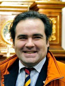D. Íñigo Bastida Baños, Presidente de la Federación Española de Belenistas y de la Asociación Belenista de Álava