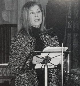 María Teresa Álvarez García, escritora y periodista, pregonera de la Navidad 2014 en Gijón (19/12/2014)