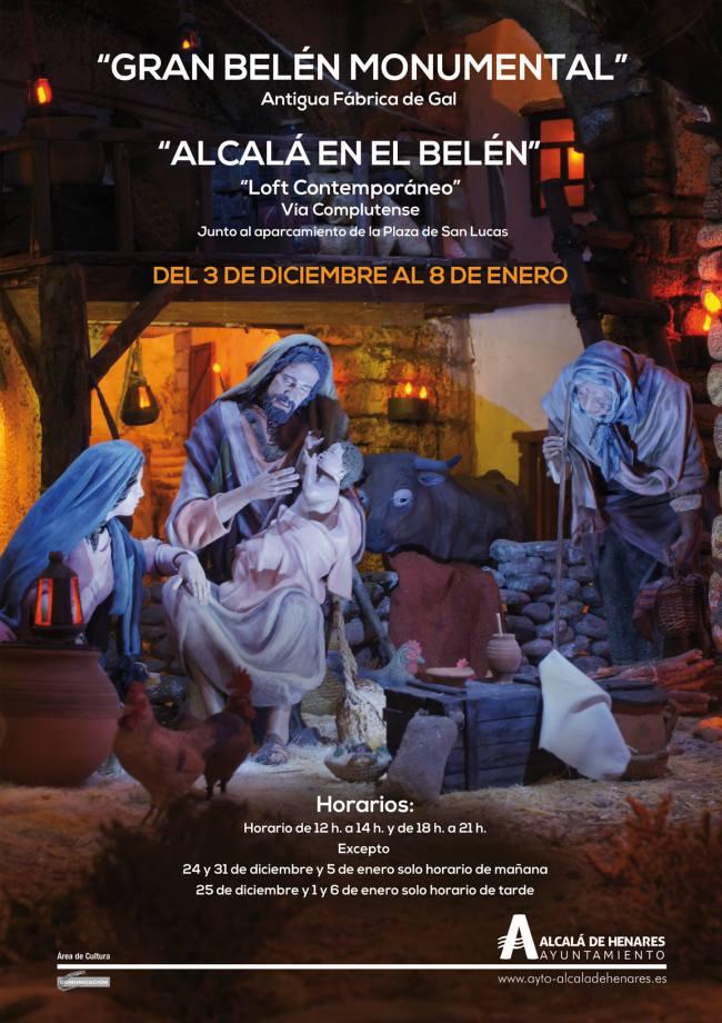 Cartel Exposiciones 2016 - Asociación Complutense de Belenistas