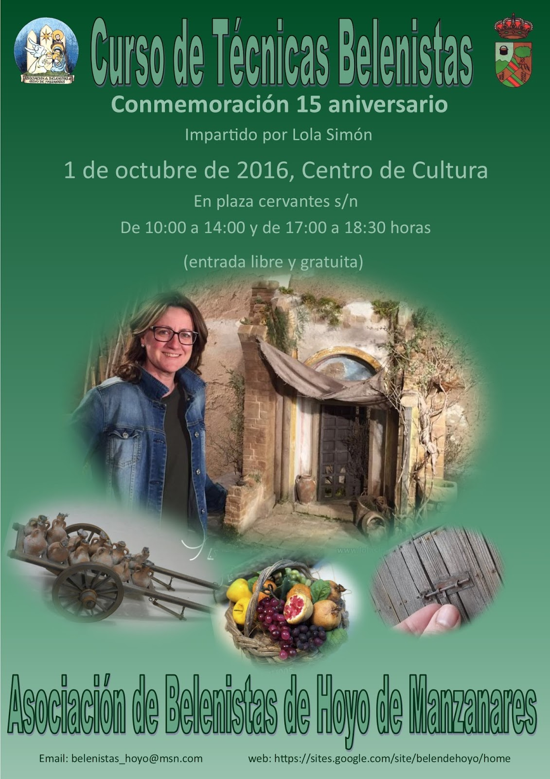 Curso de Técnicas de Belenistas - Asociación de Belenistas de Hoyo de Manzanares