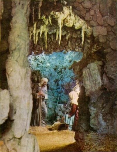 Misterio original del belén de La Florida en la gruta (1963) ©FotoArqué