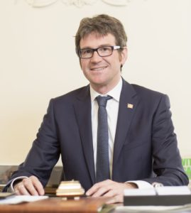 D. Gorka Urtaran Agirre, Alcalde de Vitoria-Gasteiz