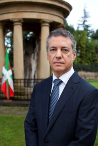 D. Íñigo Urkullu Rentería, Lehendakari del Gobierno Vasco
