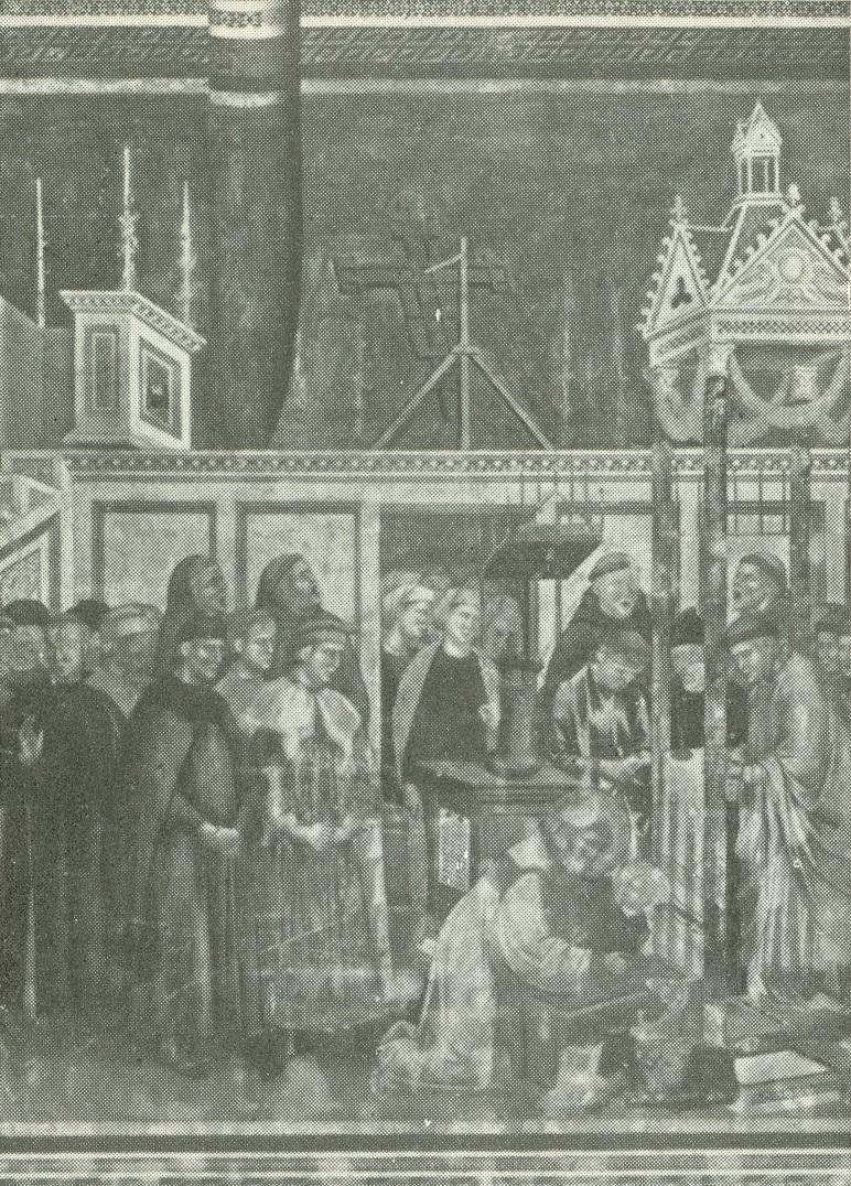 Asís. Iglesia Superior de San Francisco. El Pesebre de Greccio (Giotto).