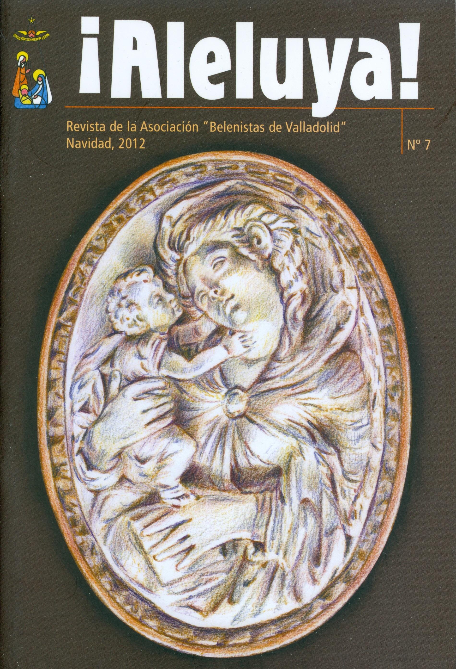 """Portada de la revista Aleluya Nº 7 - 2012, de la Asociación """"Belenistas de Valladolid"""""""