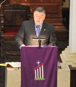 Pedro Pablo González Mecolay, pregonero de la Navidad 2012 en Vitoria-Gasteiz (22/12/2012)