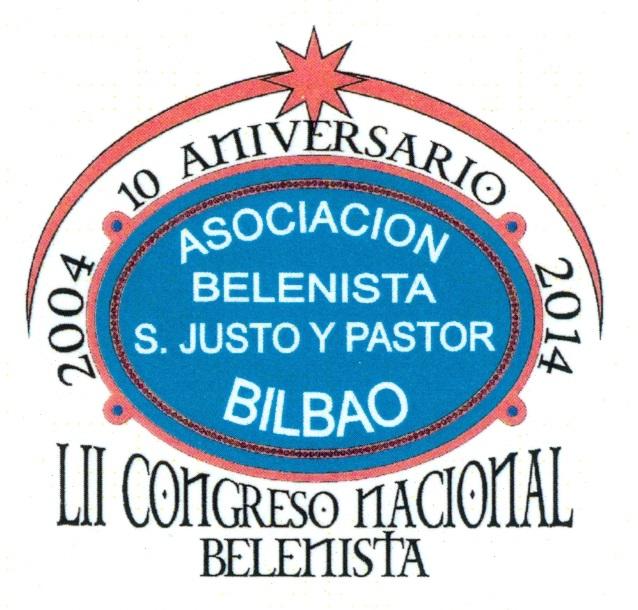 Logo LII Congreso Nacional Belenista - Bilbao 2014