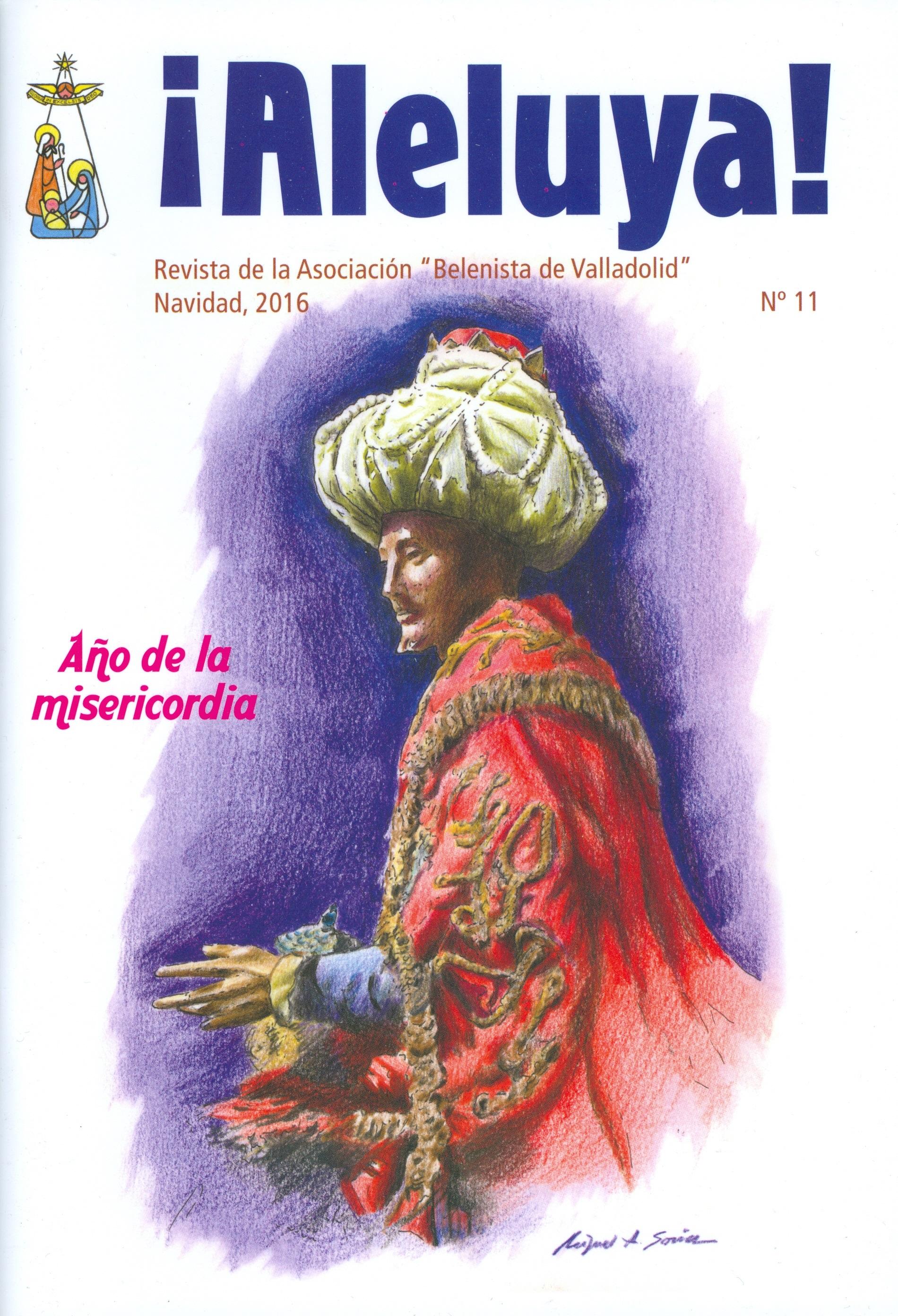 """Portada de la revista Aleluya Nº 11 - 2016, de la Asociación """"Belenistas de Valladolid"""""""