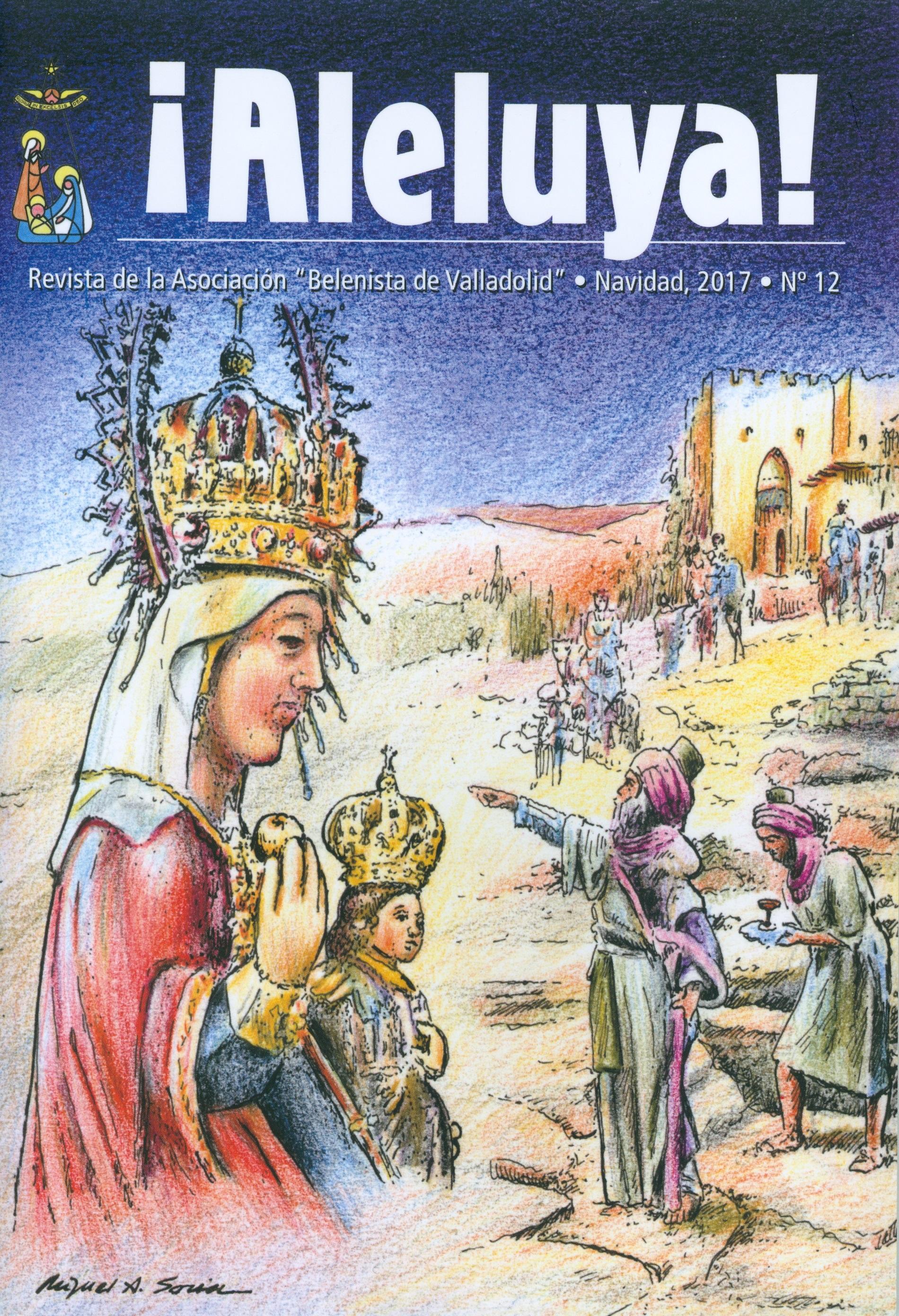 """Portada de la revista Aleluya Nº 12 - 2017, de la Asociación """"Belenistas de Valladolid"""""""