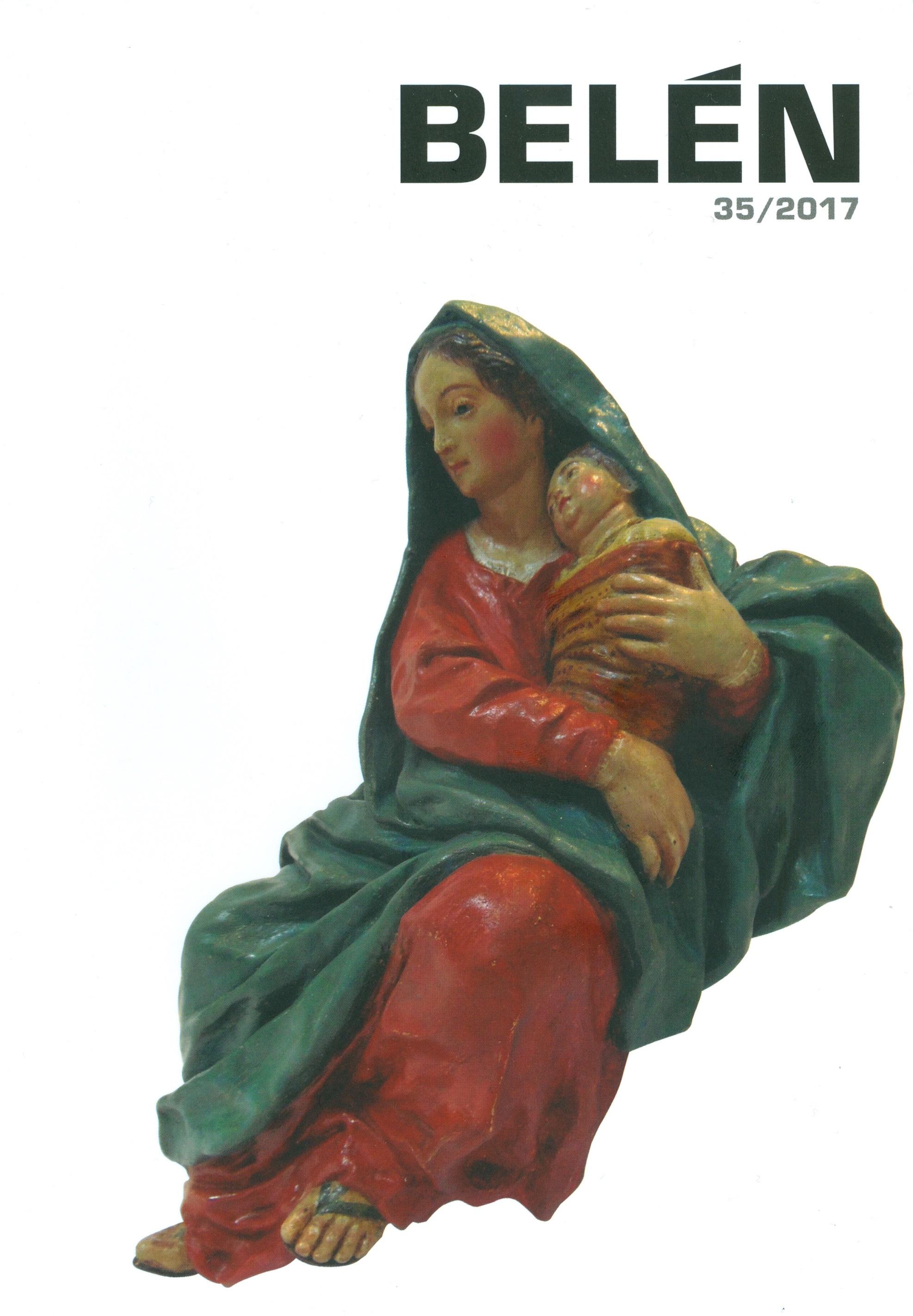 Portada de la revista Belén Nº 35 - 2017 (Segunda Época), de la Asociación de Belenistas de Madrid