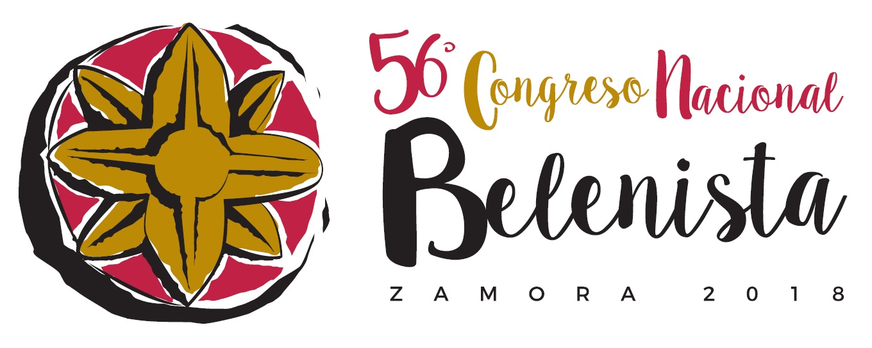 Logo LVI Congreso Nacional Belenista - Zamora 2018