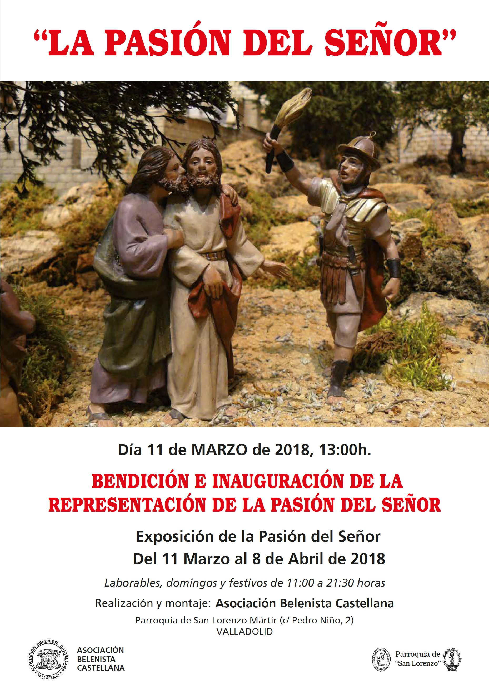 Cartel Exposición de la Pasión del Señor 2018 - Asociación Belenista Castellana