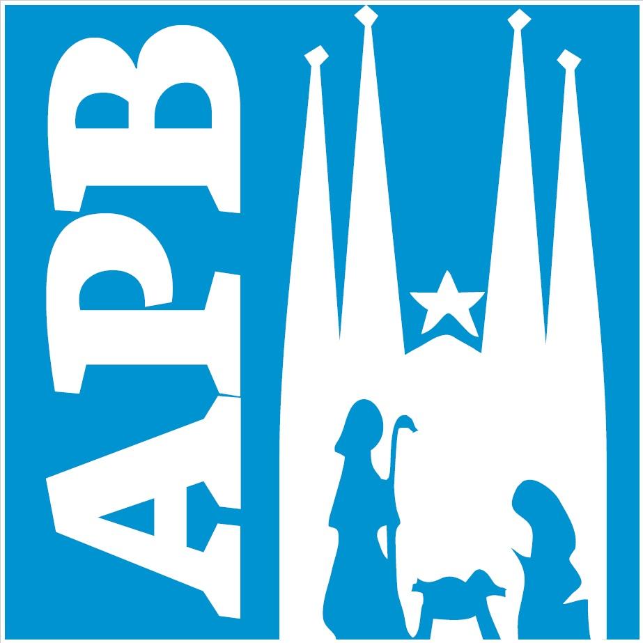 Logo de la Associació de Pessebristes de Barcelona (cuadrado)