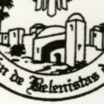 Recorte Logo de la Asociación de Belenistas de Madrid (blanco y negro)