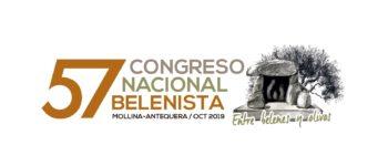 Logo LVII Congreso Nacional Belenista - Mollina 2019 (versión cabecera de página)