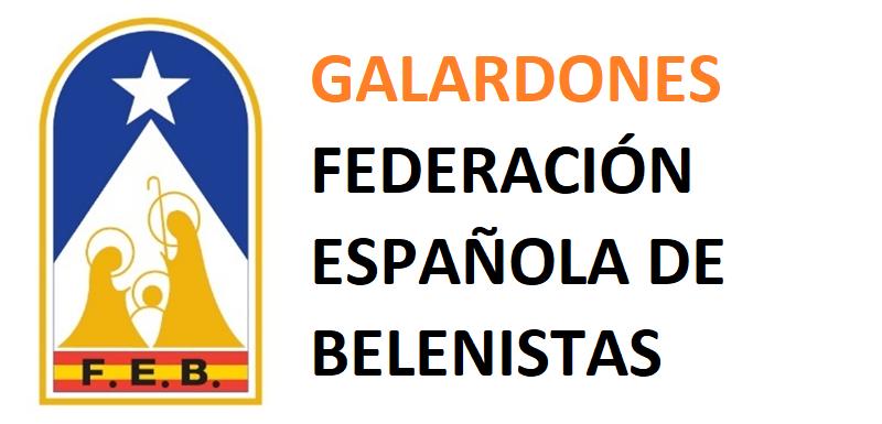 Galardones Federación Española de Belenistas