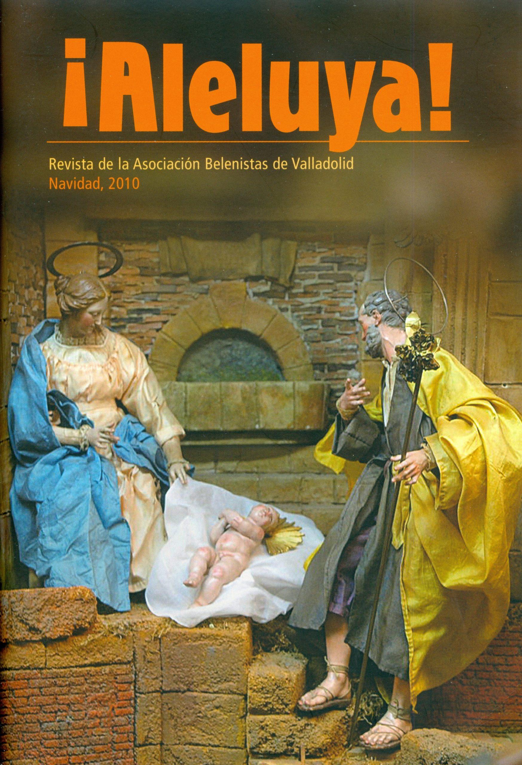 """Portada de la revista ¡Aleluya! nº 5 - Asociación """"Belenistas de Valladolid"""" (2010)"""