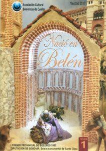 Portada de la revista Nació en Belén nº 1 - Asociación Cultural Belenistas de Cuéllar (2017)