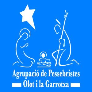 Logo de la Agrupació de Pessebristes d'Olot i la Garrotxa