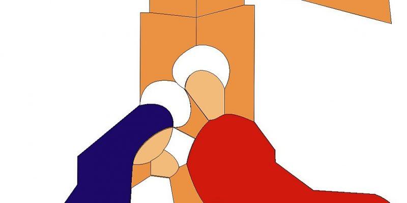 Logo de la Asociación de Belenistas La Adoración de Arcos de la Frontera