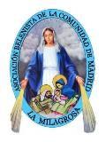 """Logo de la Asociación Belenista de la Comunidad de Madrid """"La Milagrosa"""""""