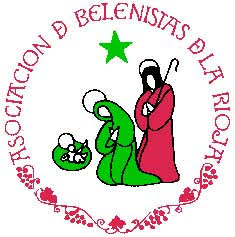 Logo de la Asociación de Belenistas de La Rioja