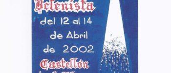 Cartel XL Congreso Nacional Belenista - Castellón 2002