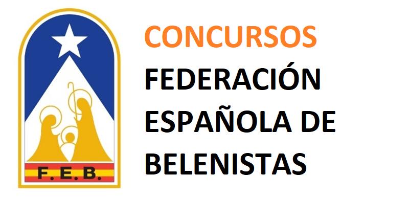 Concursos Federación Española de Belenistas